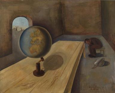 """""""The Refugee"""" by Felix Nussbaum (1939)"""