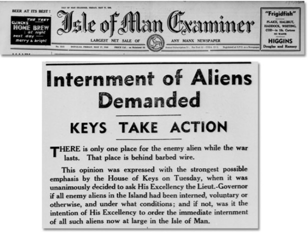 internment of aliens