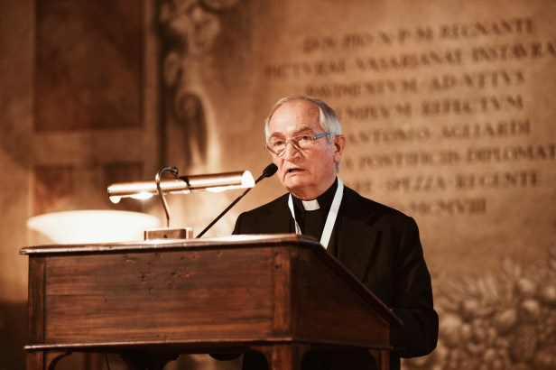 H.E. Mgr. Silvano Maria Tomasi, Secretary Delegate of the Dicastery for Promoting Integral Human Development, Holy See.jpg